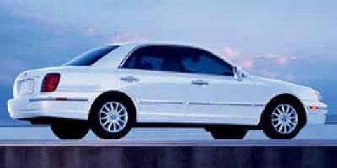 2004 Hyundai XG350 4dr Sdn WHITE CD Player Cassette Bucket Seat