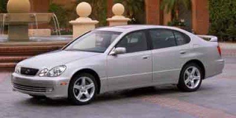 2004 Lexus GS 430 4dr Sdn Cassette Bucket Seats Brake Assist