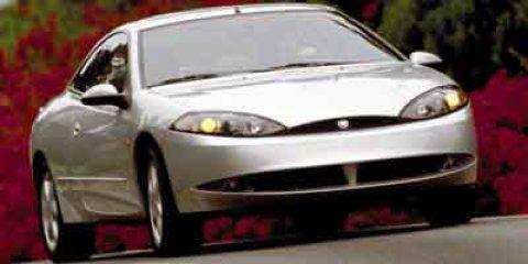 2001 Mercury Cougar 3dr Cpe V6 WHITE Front Disc/Rear Drum Brake