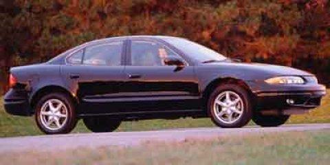 2000 Oldsmobile Alero 4dr Sdn GX ARCTIC WHITE Cloth Seats