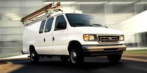 2005 Ford Econoline Cargo Van E-150 WHITE Rear Wheel Drive