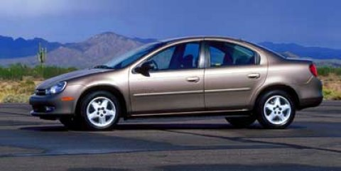 2001 Plymouth Neon 4dr Sdn Highline Front Wheel Drive