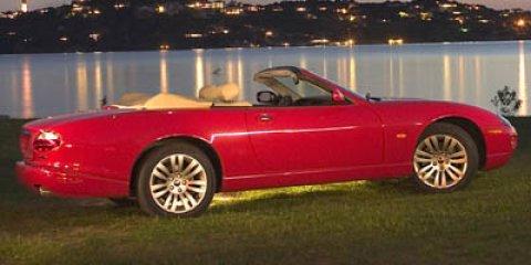 2005 Jaguar XK8 2dr Conv XK8 RED Cassette Bucket Seats