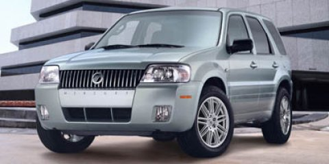 2005 Mercury Mariner 4 DOOR SUV VIVID RED METALLIC