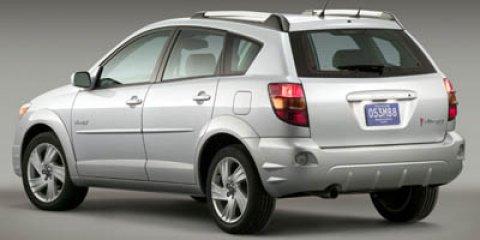 2005 Pontiac Vibe 4dr HB FUSION ORANGE METALLIC