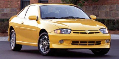 2005 Chevrolet Cavalier 2dr Base Cpe BLUE Front wheel drive