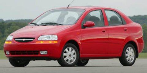 2005 Chevrolet Aveo 4dr Sdn LS GALAXY SILVER