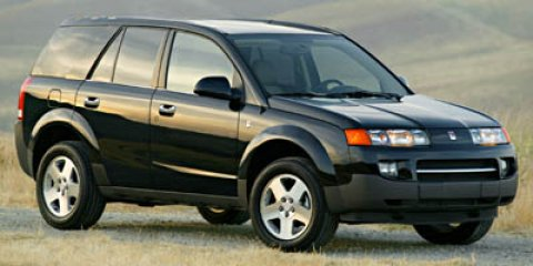 2005 Saturn VUE 4dr FWD Auto V6 BLACK ONYX Cloth Seats CD Playe