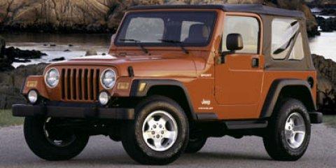 2006 Jeep Wrangler 2dr Sport WHITE Cassette Bucket Seats