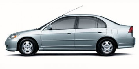 2005 Honda Civic Hybrid CVT SILVER Cruise Control Cloth Seats