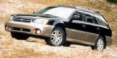 2000 Subaru Legacy Wagon 5dr Outback Auto w/GL Equip GREEN