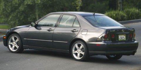 2005 Lexus IS 300 4dr Sport Sdn Auto Cassette Bucket Seats