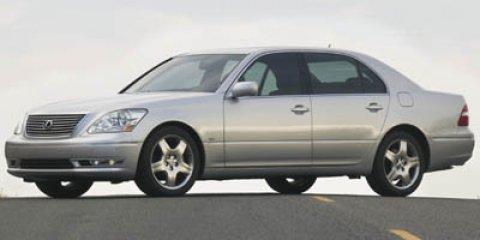 2005 Lexus LS 430 4dr Sdn CRYSTAL WHITE CD Changer Cassette