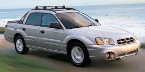 2006 Subaru Baja 4dr Sport Auto OBSIDIAN BLACK PEARL