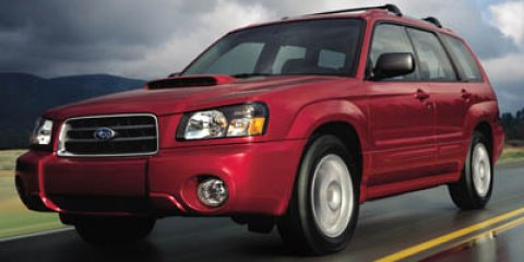 2005 Subaru Forester (Natl) BLUE Conventional Spare Tire