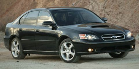 2005 Subaru Legacy Sedan (Natl) SILVER Child Safety Locks