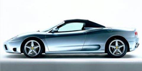 2004 Ferrari 360 2dr Convertible Spider SILVER