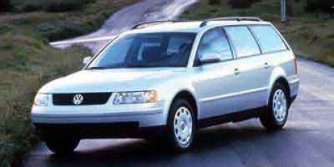 2000 Volkswagen Passat WHITE Conventional Spare Tire Cloth Seat