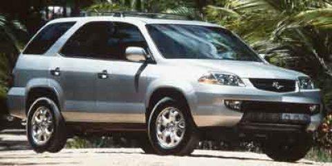 2002 Acura MDX 4dr SUV Touring Pkg WHITE CD Changer