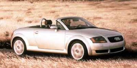 2001 Audi TT 2dr Roadster Quattro 6-Spd w/ESP BRILLIANT BLACK