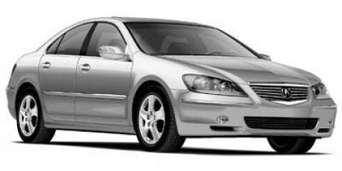 2005 Acura RL 4dr Sdn AT Bucket Seats Brake Assist