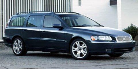 2005 Volvo V70 2.5L Turbo Cloth Seats Climate Control