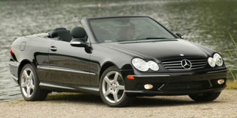 2005 Mercedes-Benz CLK-Class 2dr Cabriolet 5.0L SILVER