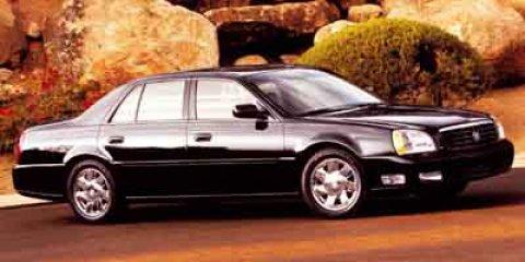 2002 Cadillac Deville 4dr Sdn DTS WHITE DIAMOND