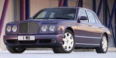 2005 Bentley Arnage 4dr Sdn T BLACK SAPPHIRE Bucket Seats