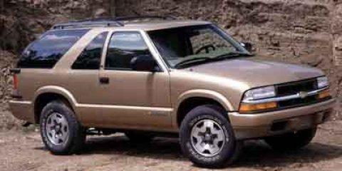 2001 Chevrolet Blazer 2dr 4WD LS SPACE BLUE METALLIC