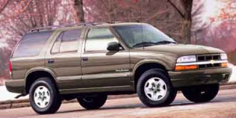2001 Chevrolet Blazer 4dr 4WD LT LIGHT PEWTER METALLIC