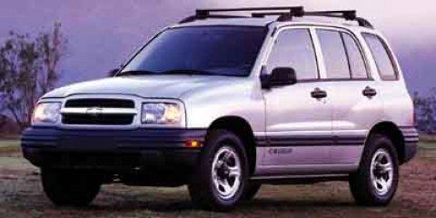 2001 Chevrolet Tracker 4dr Hardtop 4WD Base WHITE