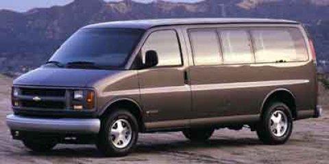 """2002 Chevrolet Express Van 2500 135"""" WB LIGHT PEWTER METALLIC"""