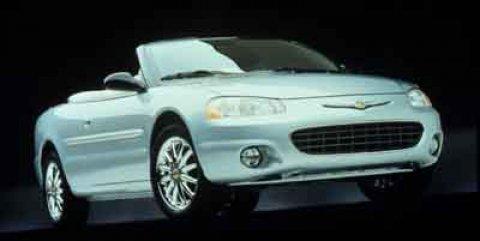 2001 Chrysler Sebring 2dr Convertible LXi Cruise Control