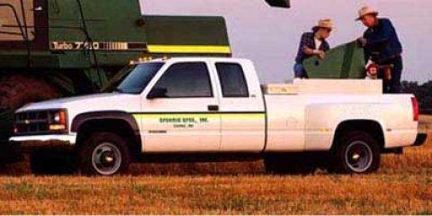 "1997 Chevrolet C/K 3500 Ext Cab 155.5"" WB DRW EMERALD GREEN"