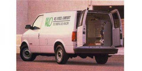 """1997 Chevrolet Astro Cargo Van 111"""" WB RWD w/YF7 IVORY WHITE"""