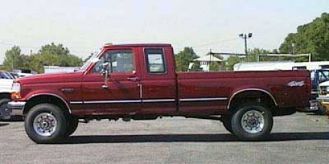 "1997 Ford F-250 HD HD Supercab 138.8"" WB TAN Vinyl Seats"