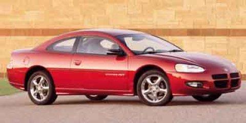 2001 Dodge Stratus 2dr Cpe R/T WHITE Cruise Control Cloth Seats