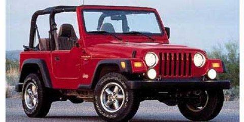 1997 Jeep Wrangler 2dr SE BLACK Vinyl Seats