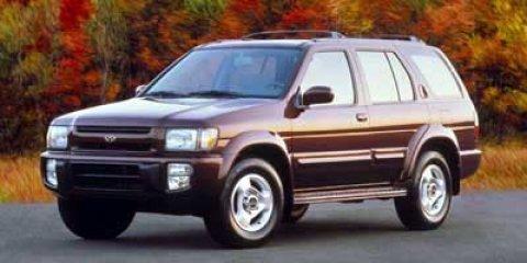 1997 Infiniti QX4 4dr Luxury SUV 4WD GOLD