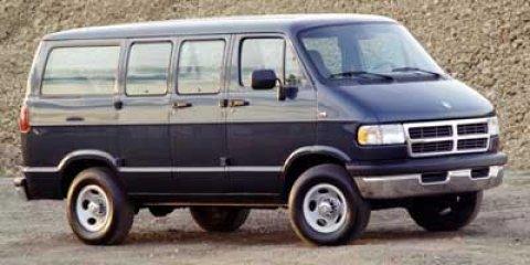 "1997 Dodge Ram Wagon B1500 109"" WB GREEN Power Steering"