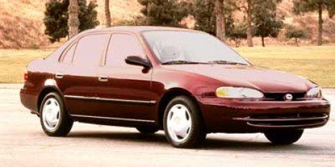 1998 Chevrolet Prizm 4dr Sdn LSi GREEN Floor Mats Driver Air Ba