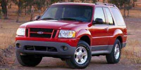 "2001 Ford Explorer Sport 2dr 102"" WB 4WD SILVER"