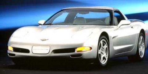 1998 Chevrolet Corvette 2dr Cpe TORCH RED Cassette