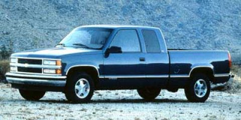 1998 Chevrolet C/K 1500 EXT CAB 141.5 WB EMERALD GREEN (MET)