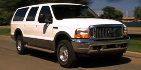 "2001 Ford Excursion 137"" WB Limited 4WD WHITE CD Player Cassett"