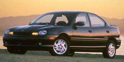 1998 Dodge Neon 4dr Sdn Highline BLUE Rear Defrost