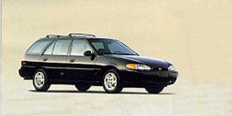1998 Ford Escort 4dr Wgn SE Pass-Through Rear Seat Keyless Entr