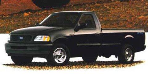 """1998 Ford F-150 Standard Reg Cab 120"""" BLACK"""