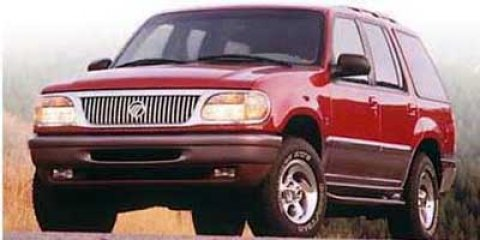 "1998 Mercury Mountaineer 4dr 112"" WB WHITE"